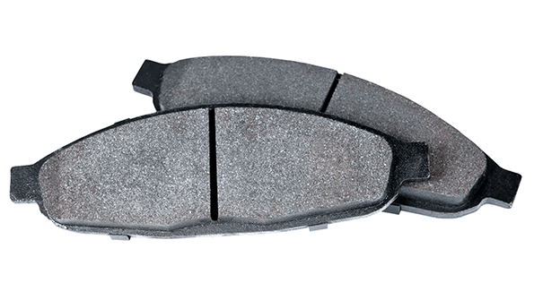 metallic brake pads