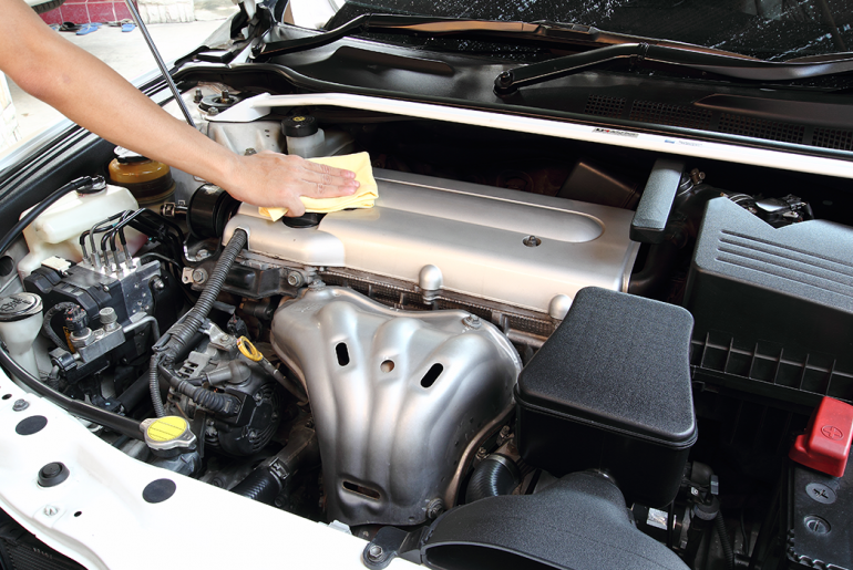 cleaning engine