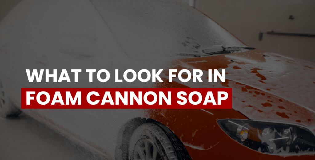 foam cannon soap