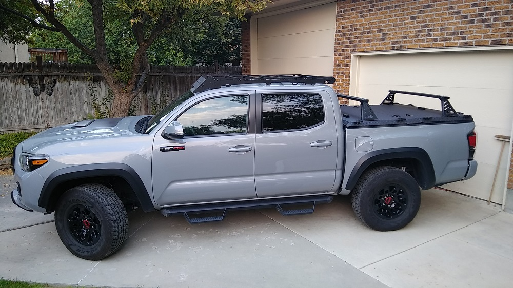 toyota tacoma with new tires