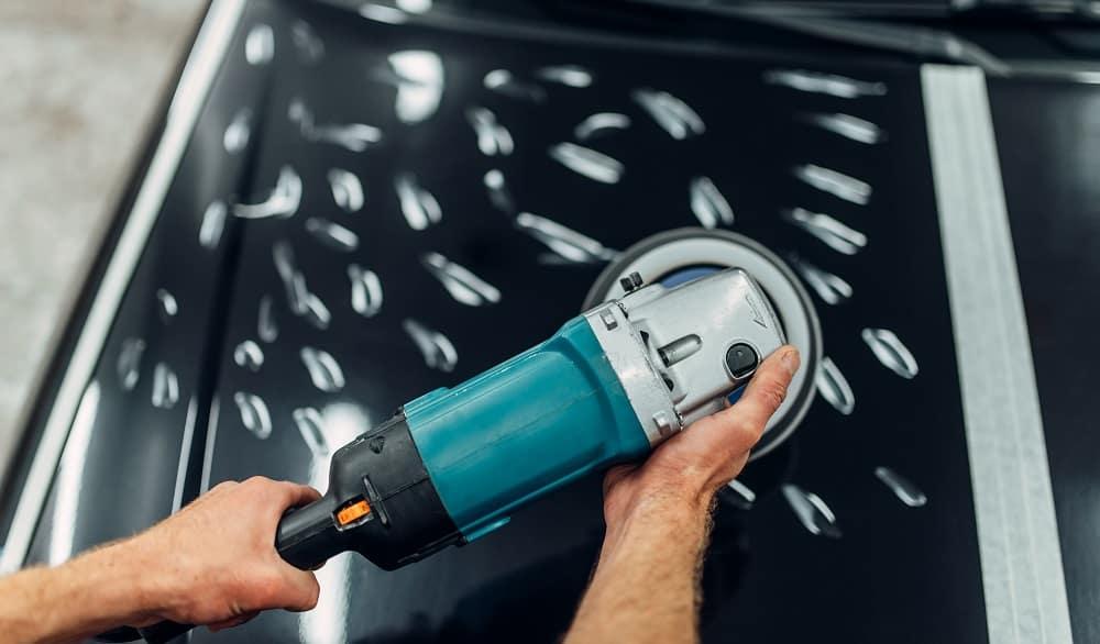 polishing vehicle