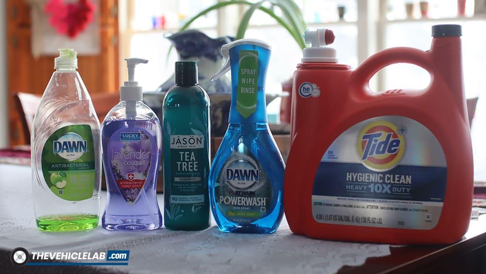 car wash soap alternatives
