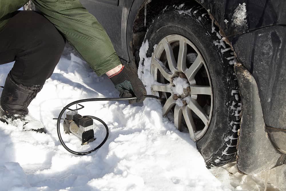 cold air tires