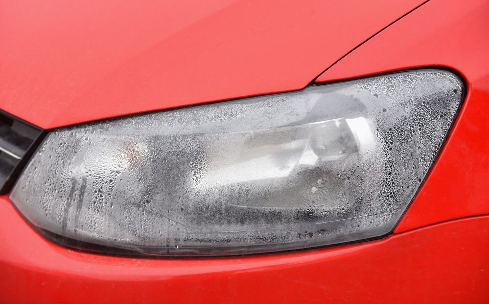 condensation in headlights
