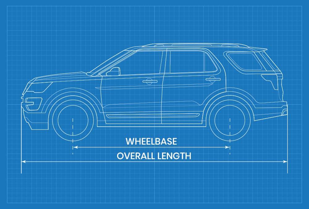 overall length vs wheelbase length
