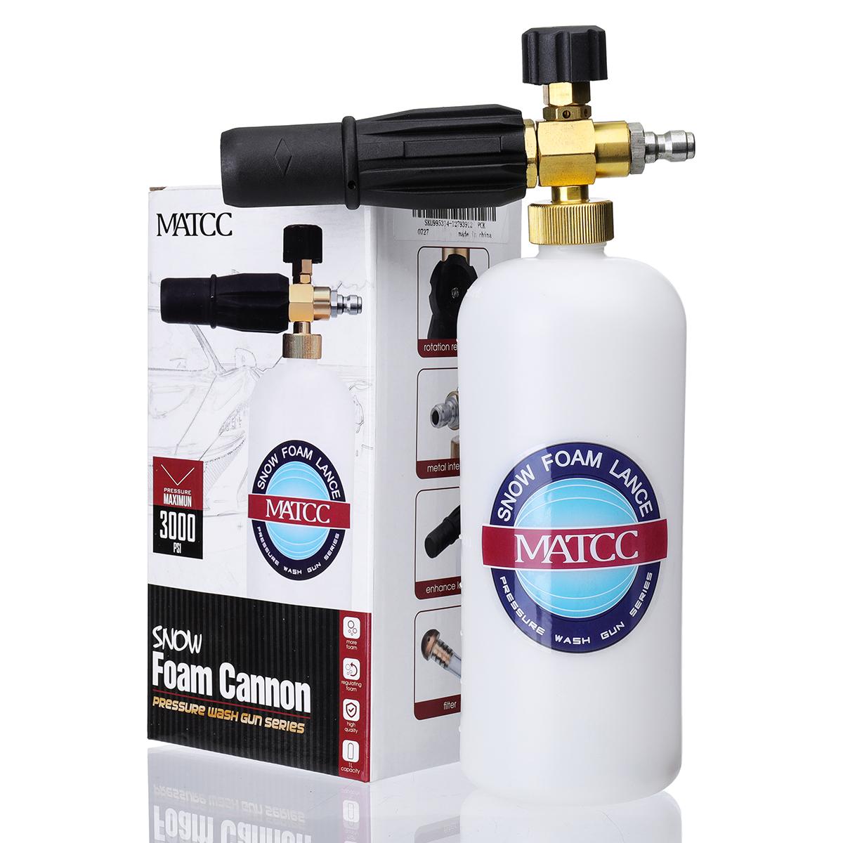 MATCC Foam Cannon II