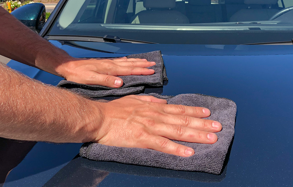 car drying techniques