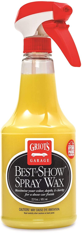 griots garage best of show spray wax