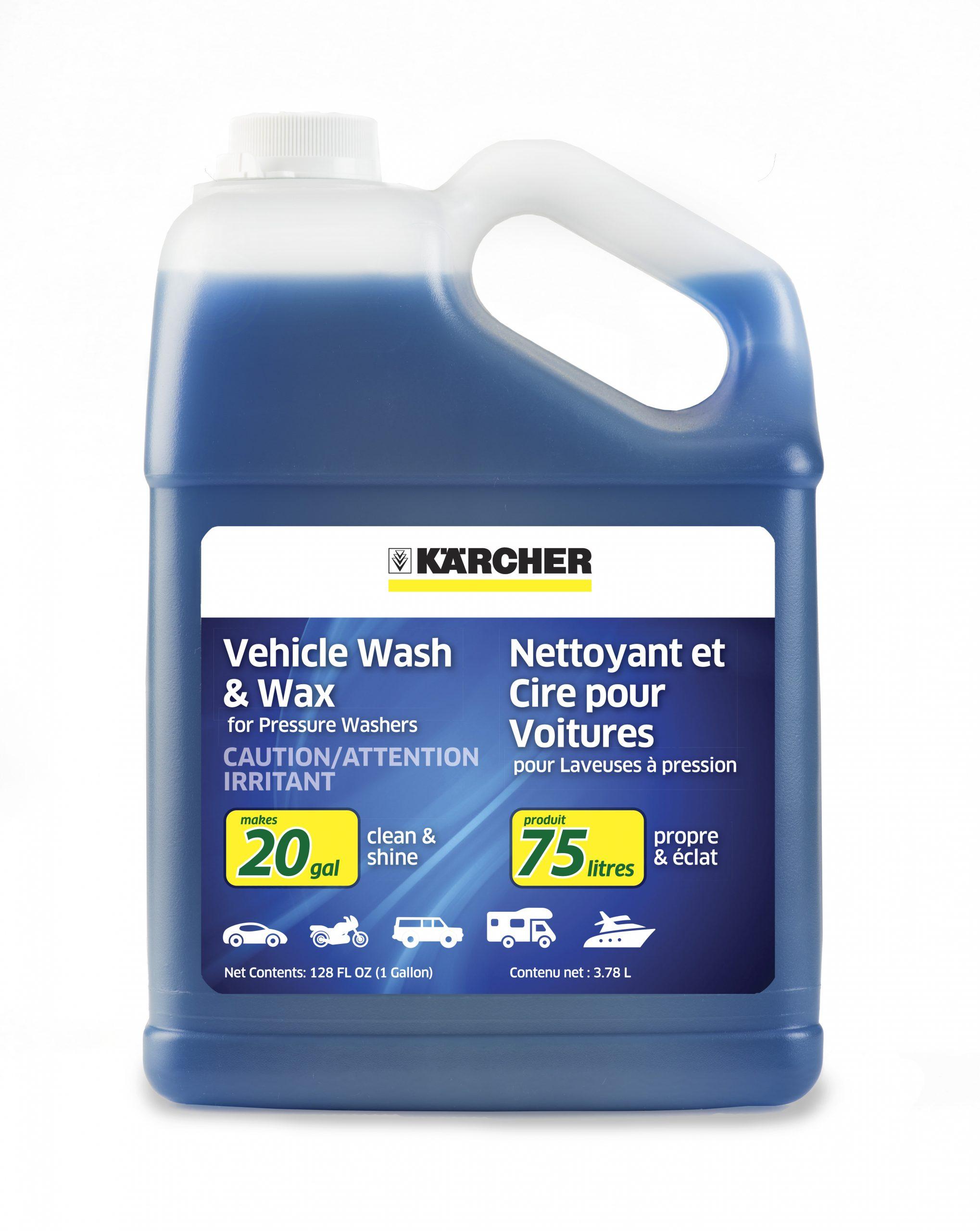 karcher car wash and wax