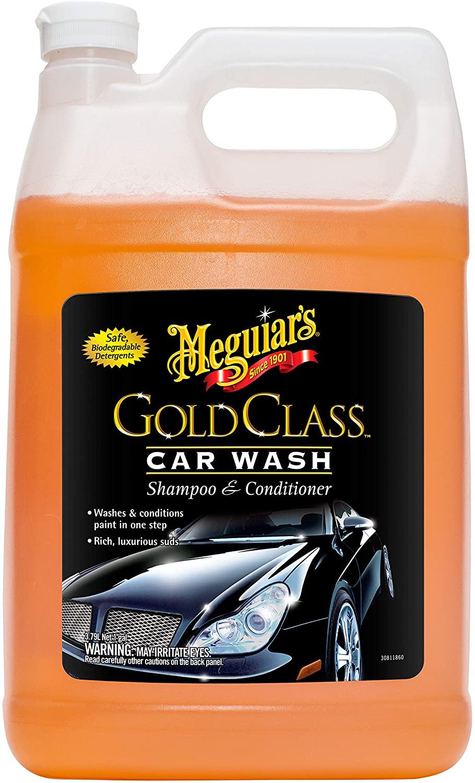 meguiars gold class car wash soap