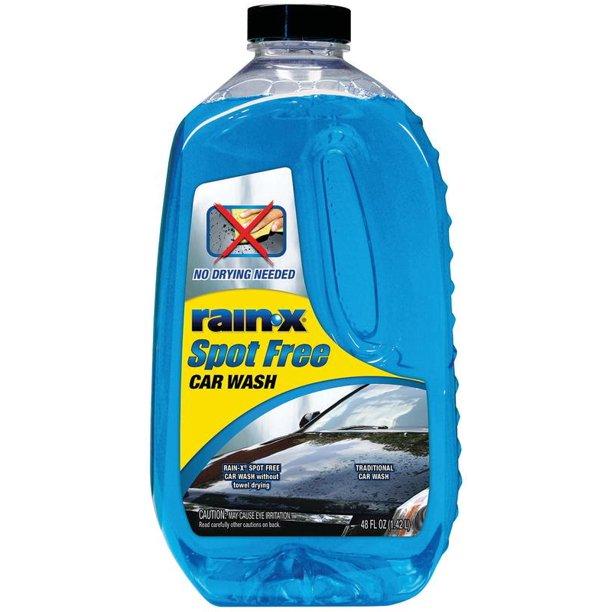 rain-x spot free car wash