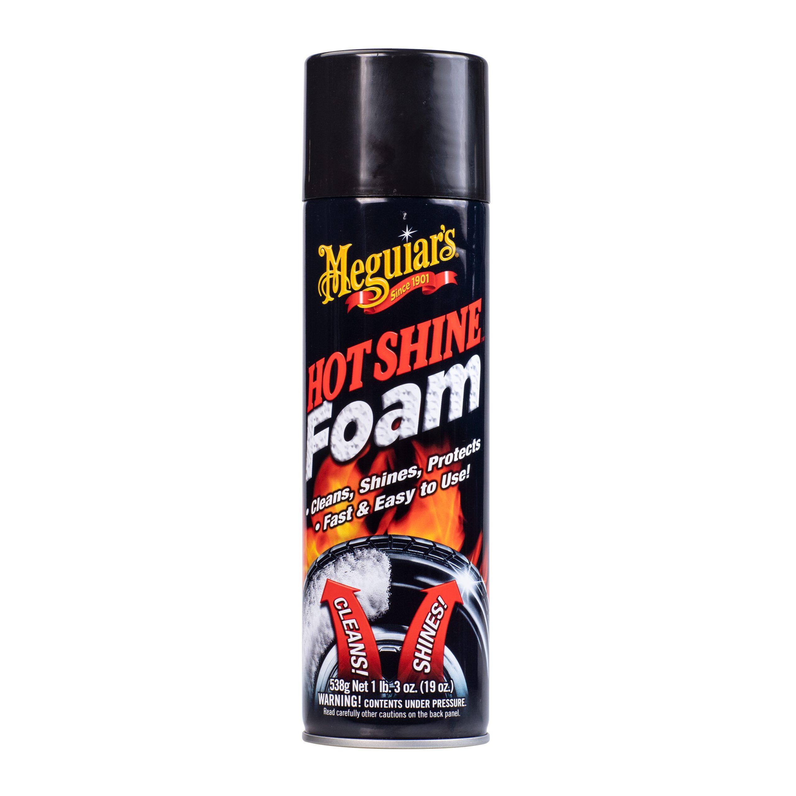 meguiars hot shine foam
