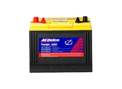 acdelco agm voyager battery