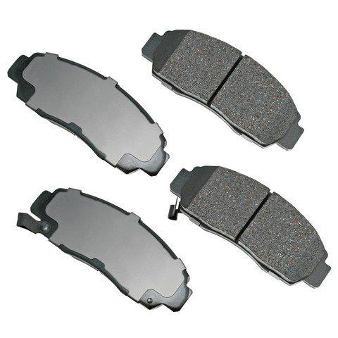 akebono ceramic brake pad set