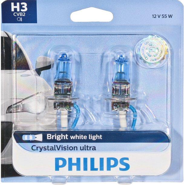 philips crystalvision halogen headlight bulb