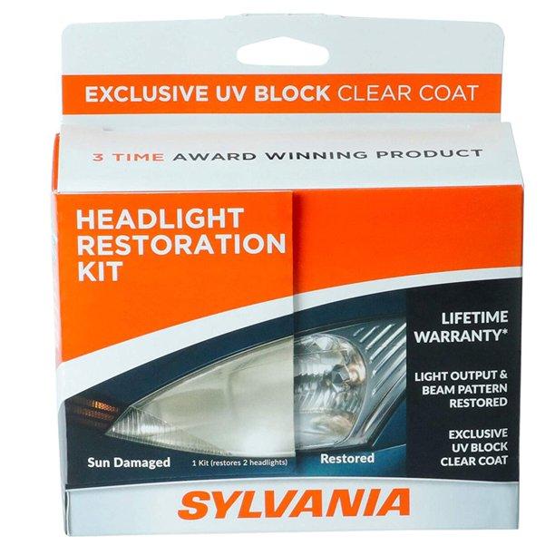 sylvania headlight restoration kit