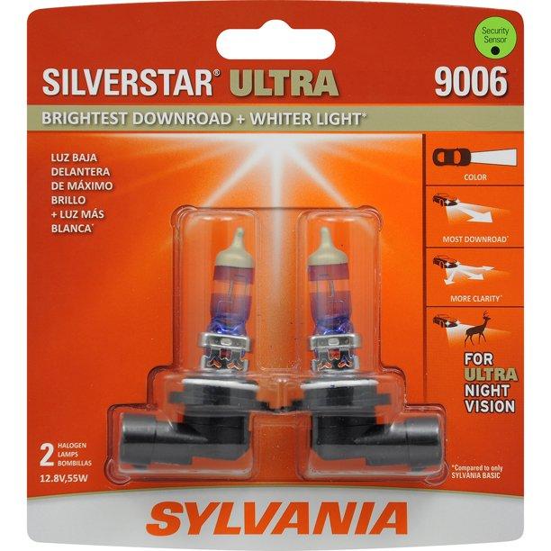 sylvania silverstar halogen headlight bulbs